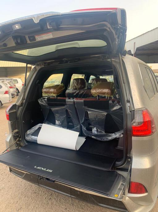 تقدم بطلب شراء لكزس LX 570-S Sport 2021 فل دبل - 66425 - صوره