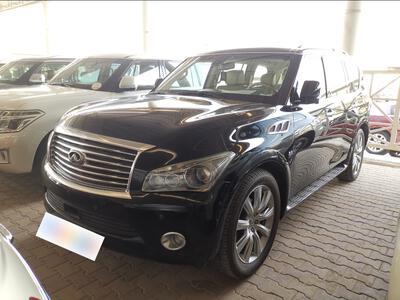 سيارة انفنتي QX80 سعودي 2014 فل للبيع