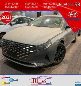 هونداي ازيرا 2021 الشكل الجديد سعودي