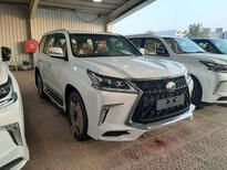 مباع - لكزس LX570  دايموند 2020 خليجي فل جديد للبيع في الرياض - السعودية - صورة صغيرة - 6