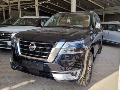 سيارة نيسان باترول بلاتينيوم 2021 فل دبل سعودي جديد للبيع