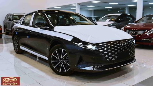 سيارة هونداي ازيرا 2021   2.5 CC  سلندر4 سمارت ( استاندر) سعودي  للبيع