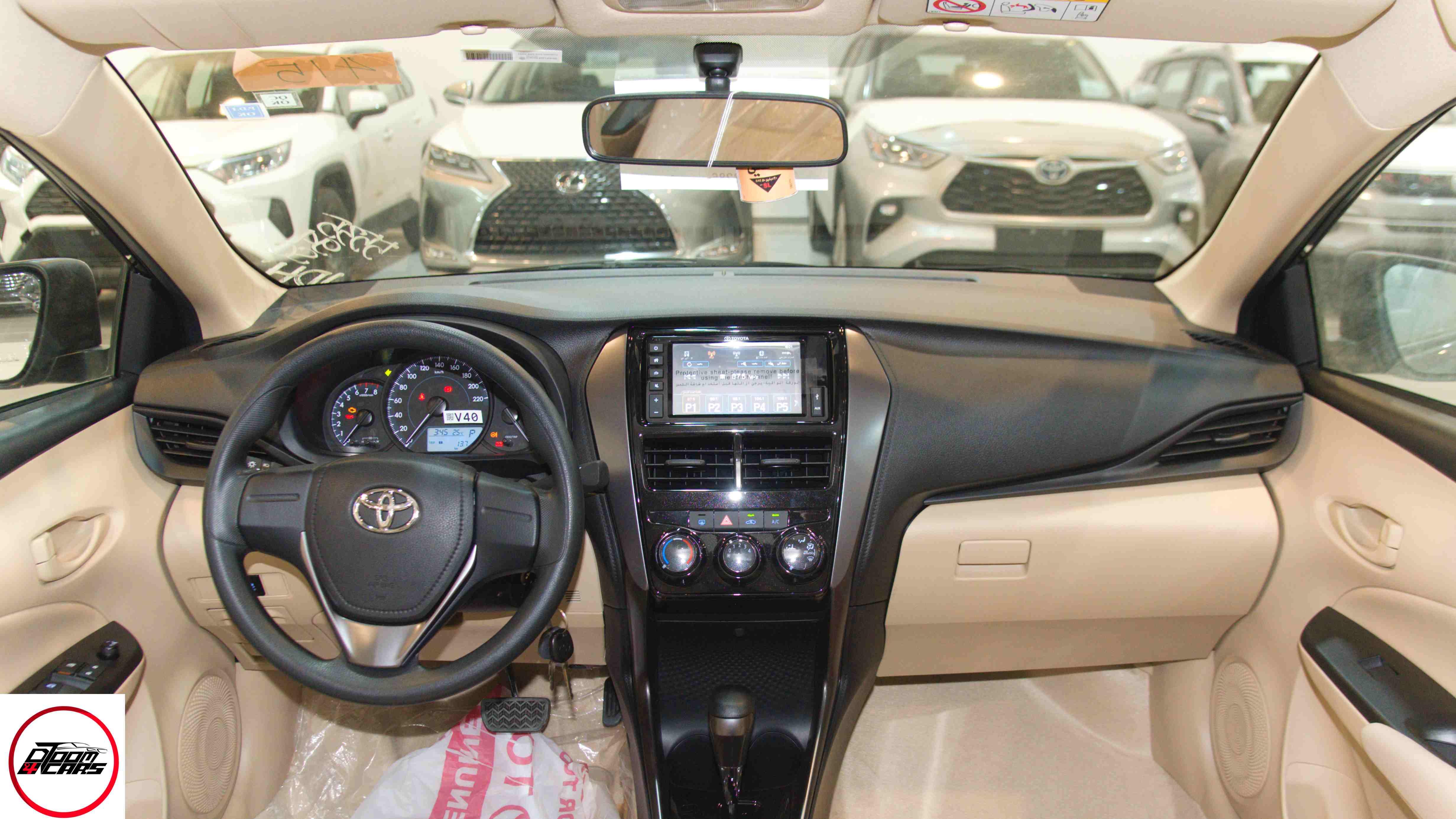 تويوتا يارس 2021 طيس Y شاشة سعودي جديد للبيع في الرياض - السعودية - صورة كبيرة - 6