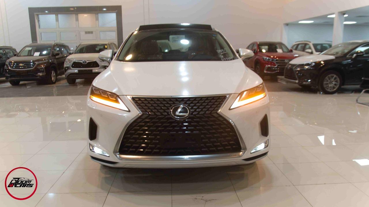 لكزس RX 350 م 2021 فئة 2021  جيب BB سعودي فل جديد _ شامل الضريبة للبيع في الرياض - السعودية - صورة كبيرة - 1