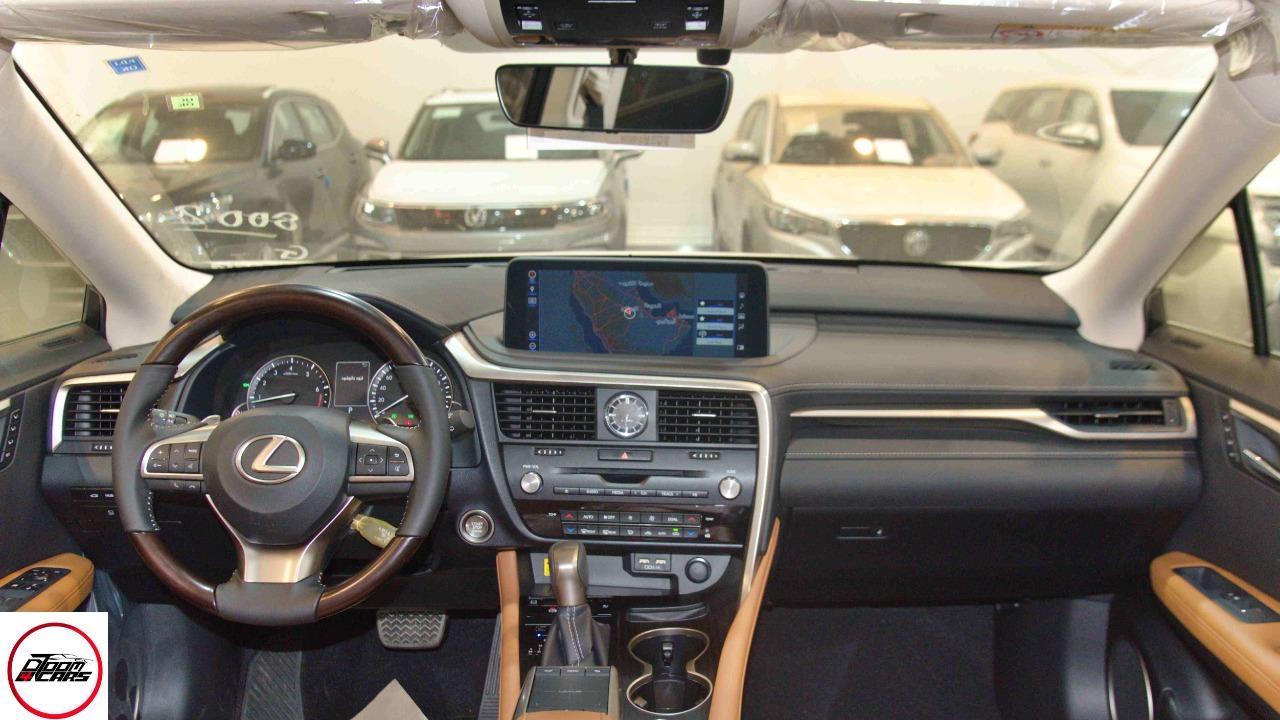 لكزس RX 350 م 2021 فئة 2021  جيب BB سعودي فل جديد _ شامل الضريبة للبيع في الرياض - السعودية - صورة كبيرة - 9