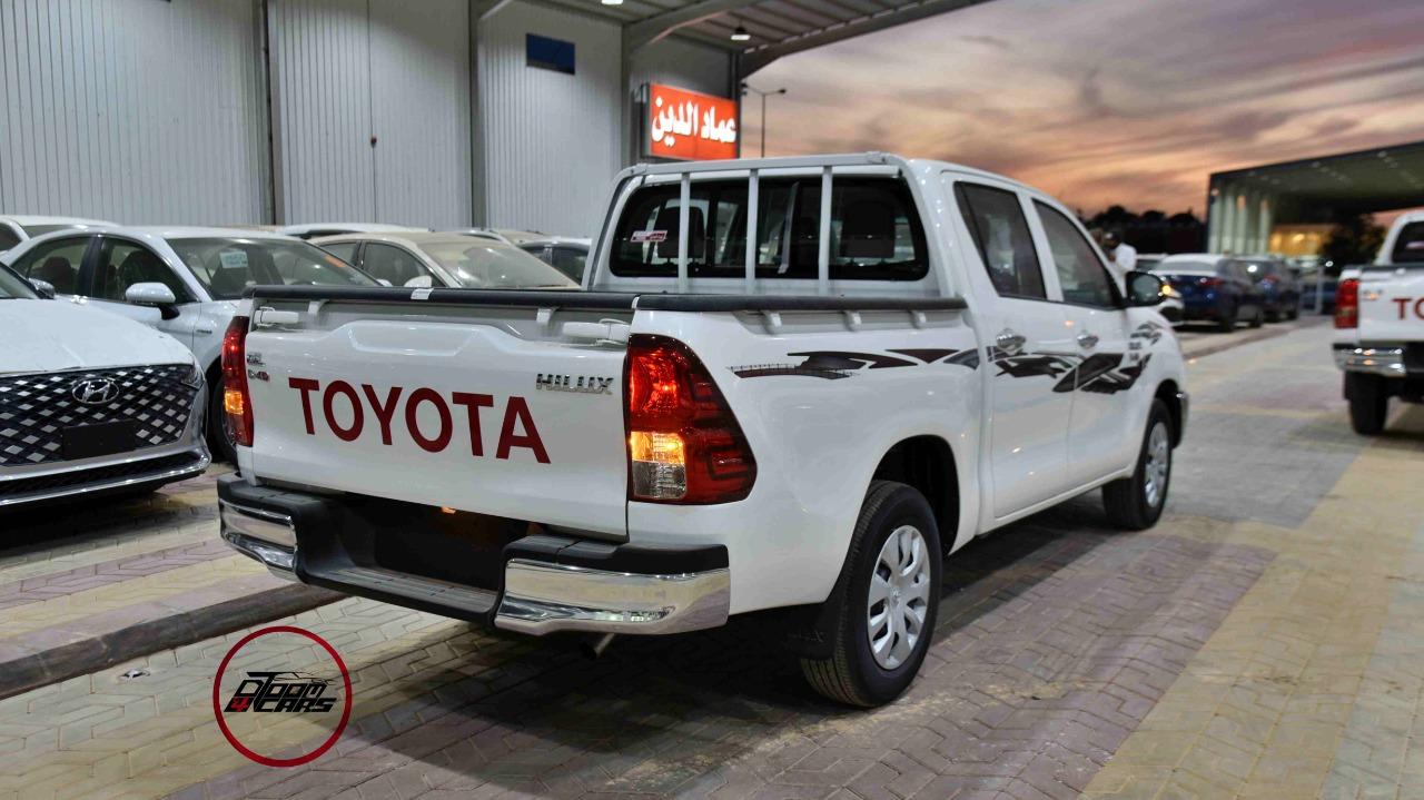 تويوتا هايلكس 2021 غمارتين GL ديزل سعودي جديد  للبيع في الرياض - السعودية - صورة كبيرة - 5