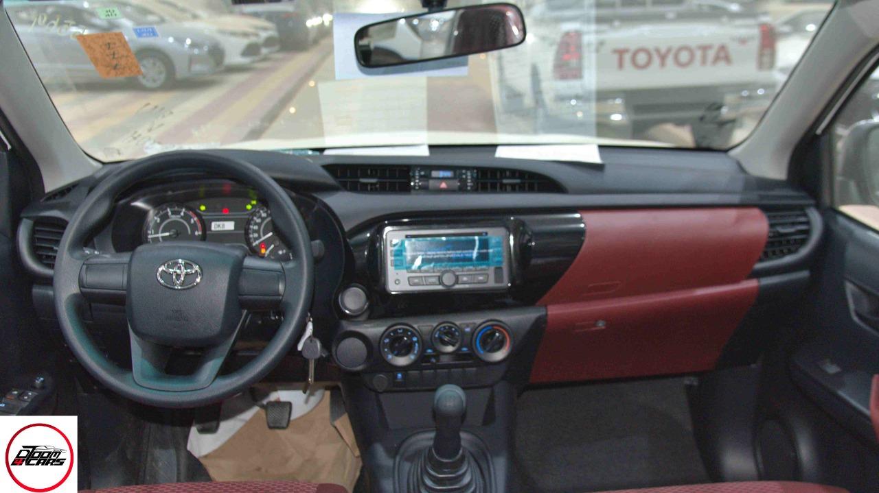 تويوتا هايلكس 2021 غمارتين GL ديزل سعودي جديد  للبيع في الرياض - السعودية - صورة كبيرة - 6