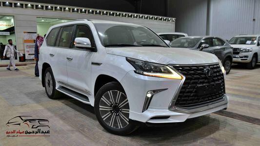 سيارة لكزس 2021   LX 570 فئة S S ابواب شفط  بريمي آخر دفعة  للبيع