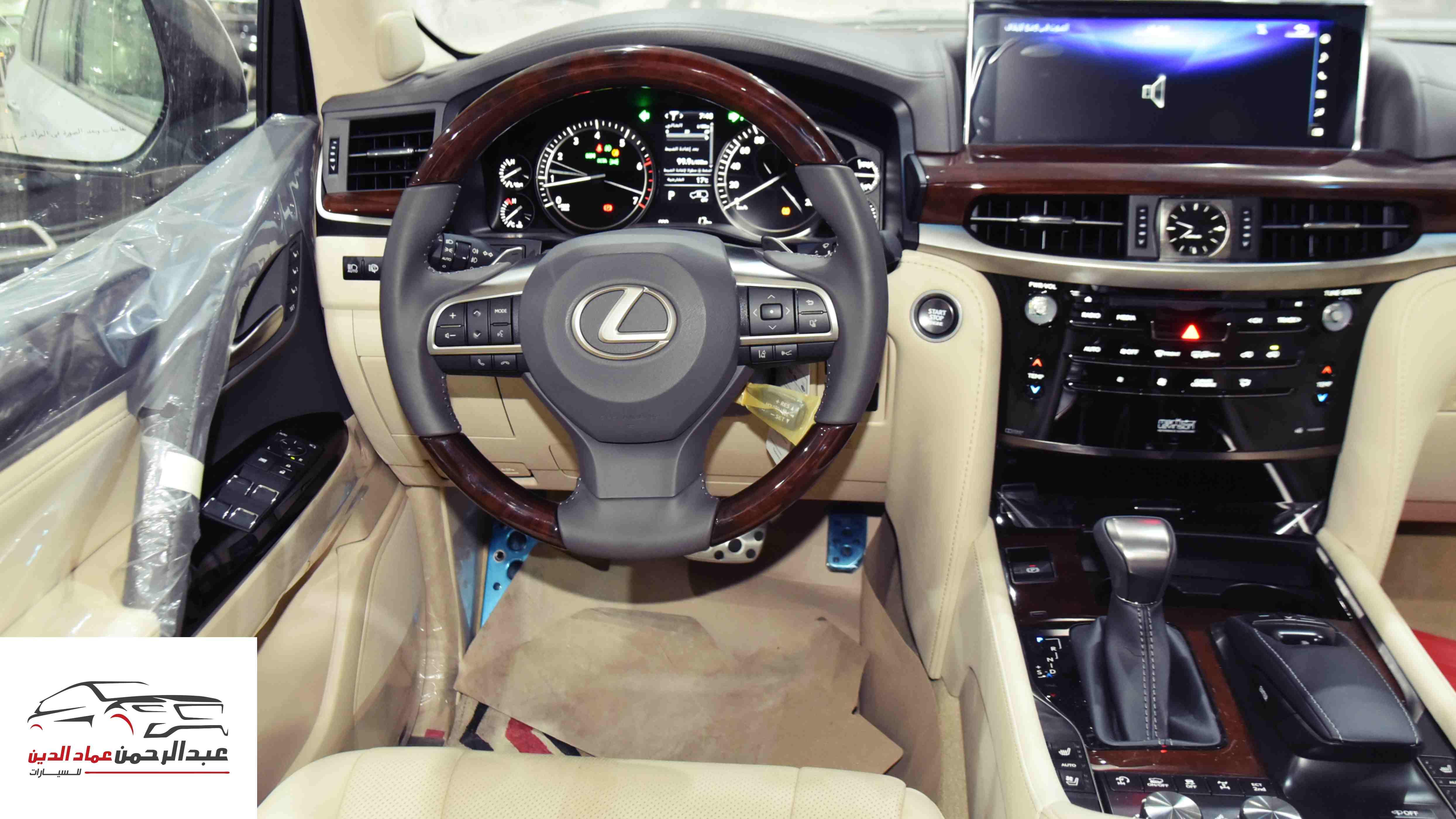 لكزس 2021   LX 570 فئة S S ابواب شفط  بريمي آخر دفعة  للبيع في الرياض - السعودية - صورة كبيرة - 7