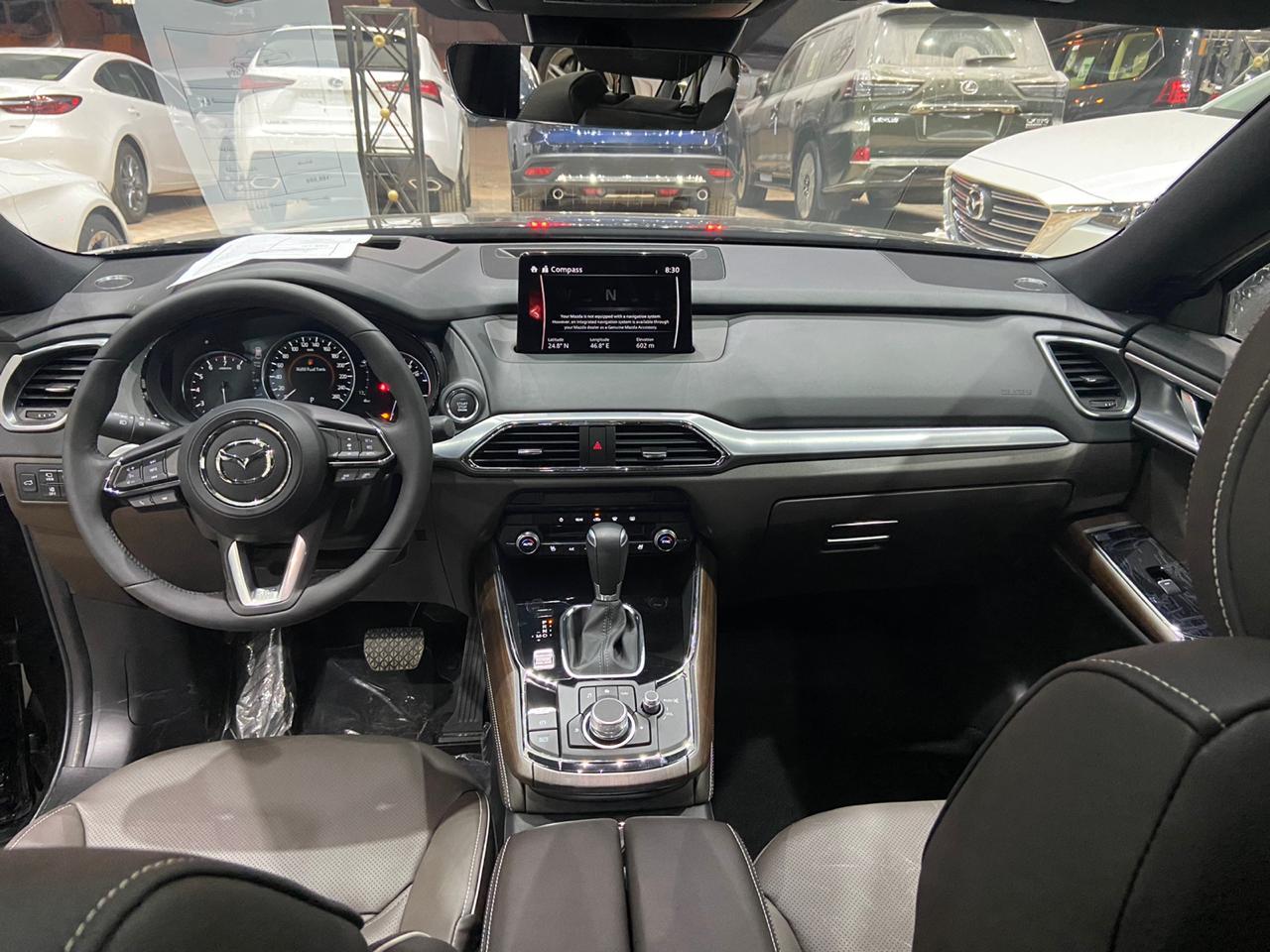 مازدا CX9 2020 سجنتشر فل خليجي للبيع في الرياض - السعودية - صورة كبيرة - 5
