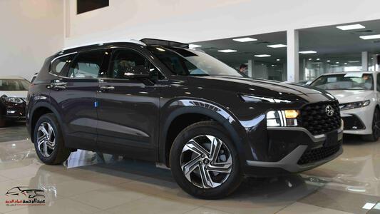 سيارة هونداي سنتافي 2021 بدون دبل بصمة 2.5 cc سعودي جديد  للبيع