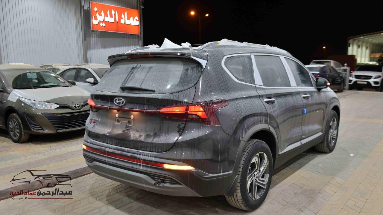 هونداي سنتافي 2021 بدون دبل بصمة 2.5 cc سعودي جديد  للبيع في الرياض - السعودية - صورة كبيرة - 3