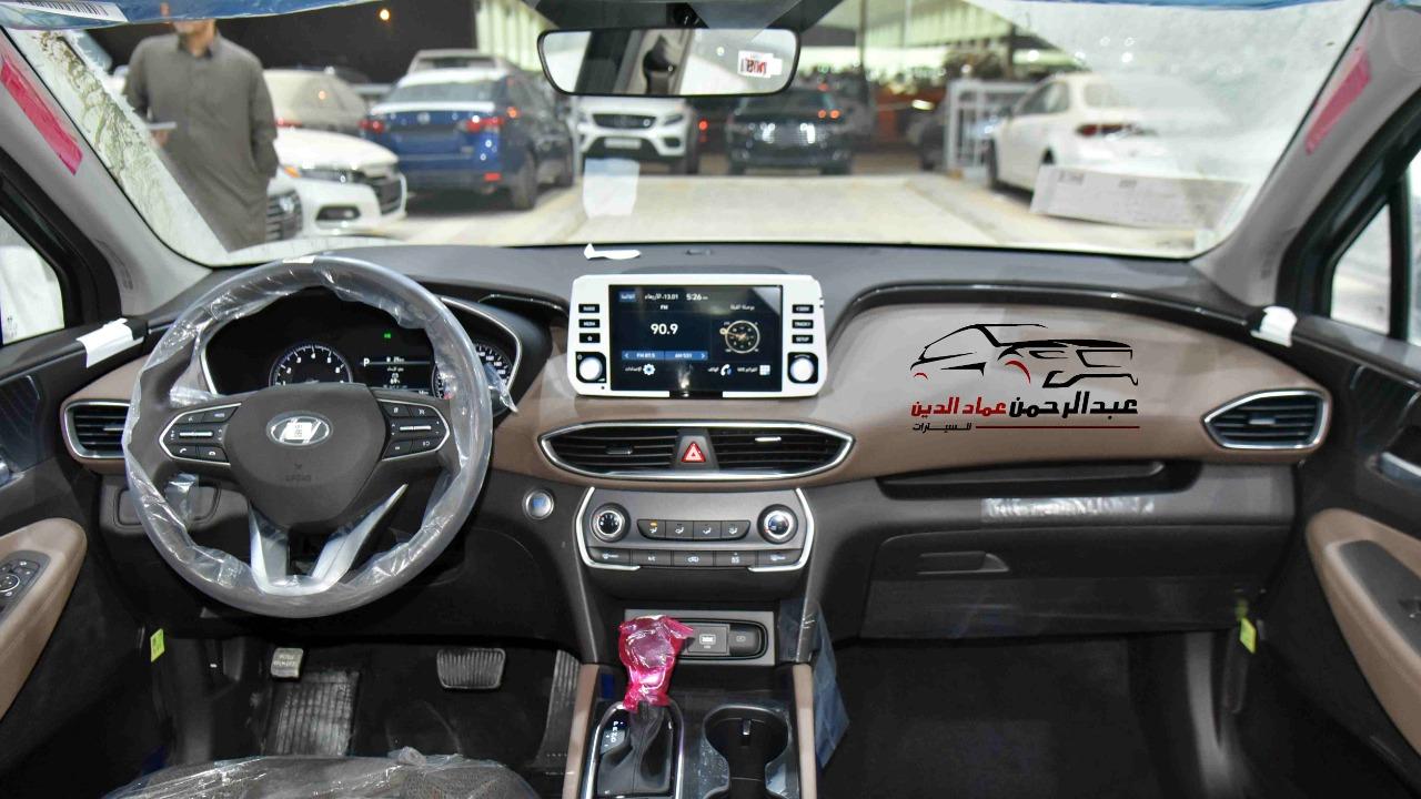 هونداي سنتافي 2021 بدون دبل بصمة 2.5 cc سعودي جديد  للبيع في الرياض - السعودية - صورة كبيرة - 5