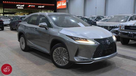 سيارة لكزس RX 450  2021 بانوراما  هايبرد  سعودي جديد للبيع
