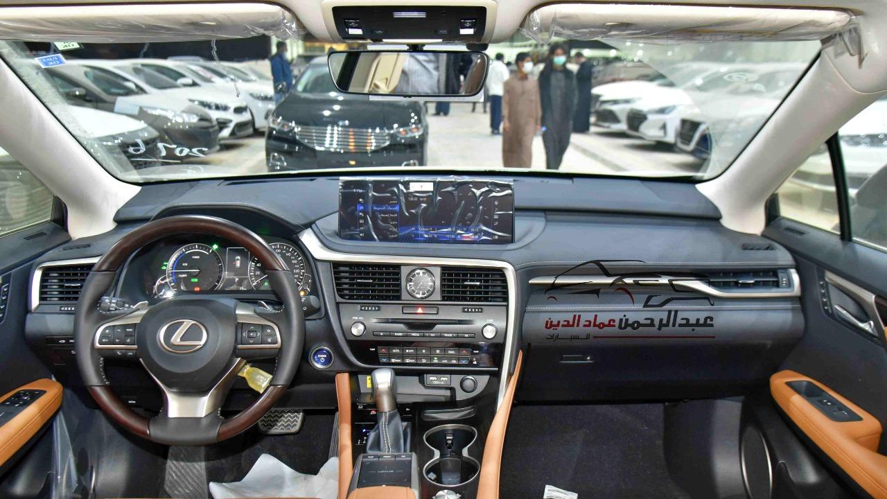 لكزس RX 450  2021 بانوراما  هايبرد  سعودي جديد للبيع في الرياض - السعودية - صورة كبيرة - 5