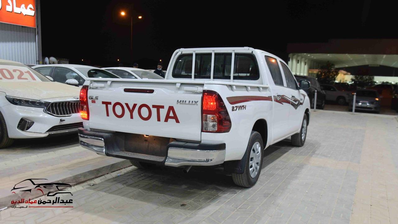 هايلكس 2021 غمارتين   GLS  اوتوماتيك  بنزين بريمي  للبيع في الرياض - السعودية - صورة كبيرة - 3