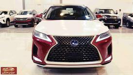 لكزس RX 450 هايبرد 2020 سعودي 258.750 شامل الضريبة عرض خاص  للبيع في الرياض - السعودية - صورة صغيرة - 2