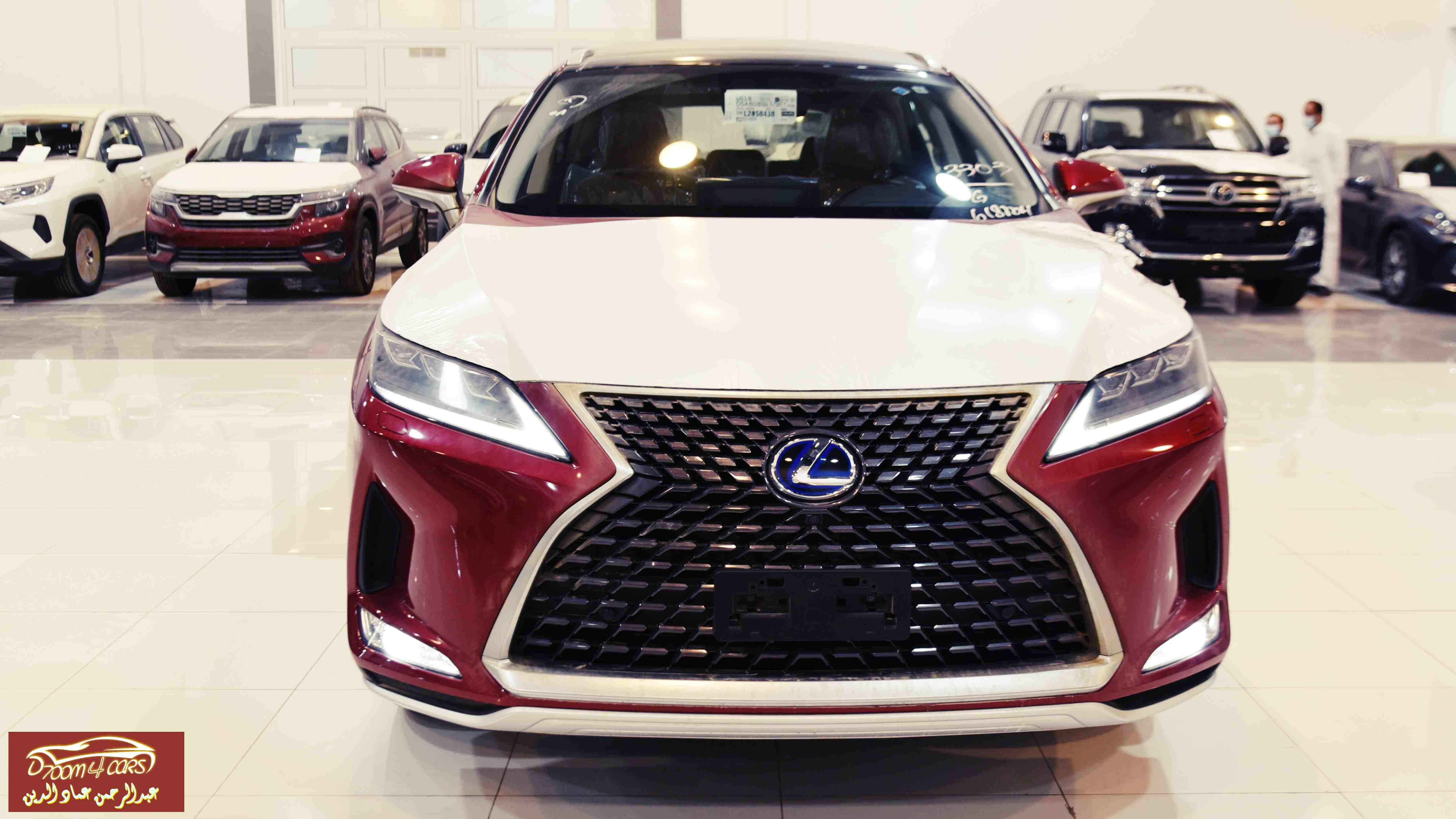 لكزس RX 450 هايبرد 2020 سعودي 258.750 شامل الضريبة عرض خاص  للبيع في الرياض - السعودية - صورة كبيرة - 2