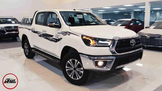 سيارة تويوتا هايلكس 2021 S_GLX غمارتين دبل 2.4 ديزل سعودي_شامل الضريبه للبيع