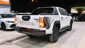 تويوتا هايلكس 2021 ادفنشر 4 سلندر دبل ديزل سعودي  للبيع في الرياض - السعودية - صورة صغيرة - 3