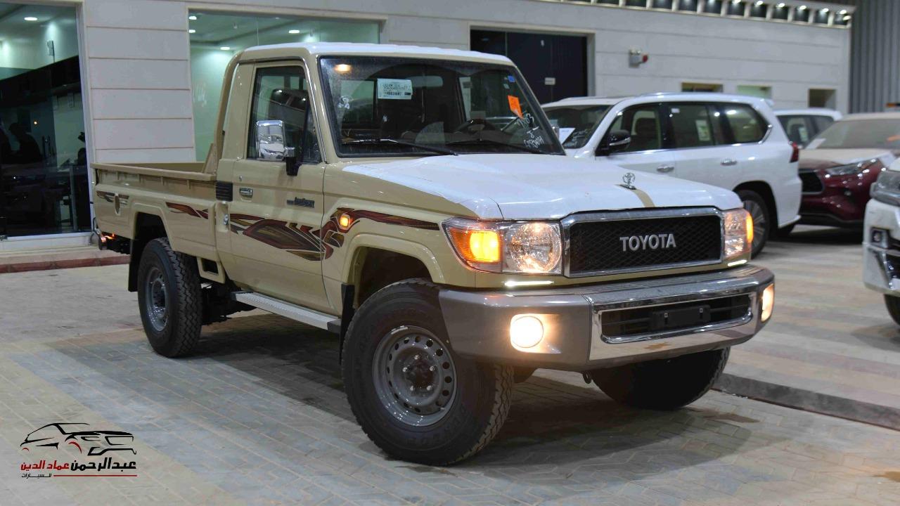 تويوتا شاص 2021  ديلوكس بدون ونش بنزين  سعودي  للبيع في الرياض - السعودية - صورة كبيرة - 1