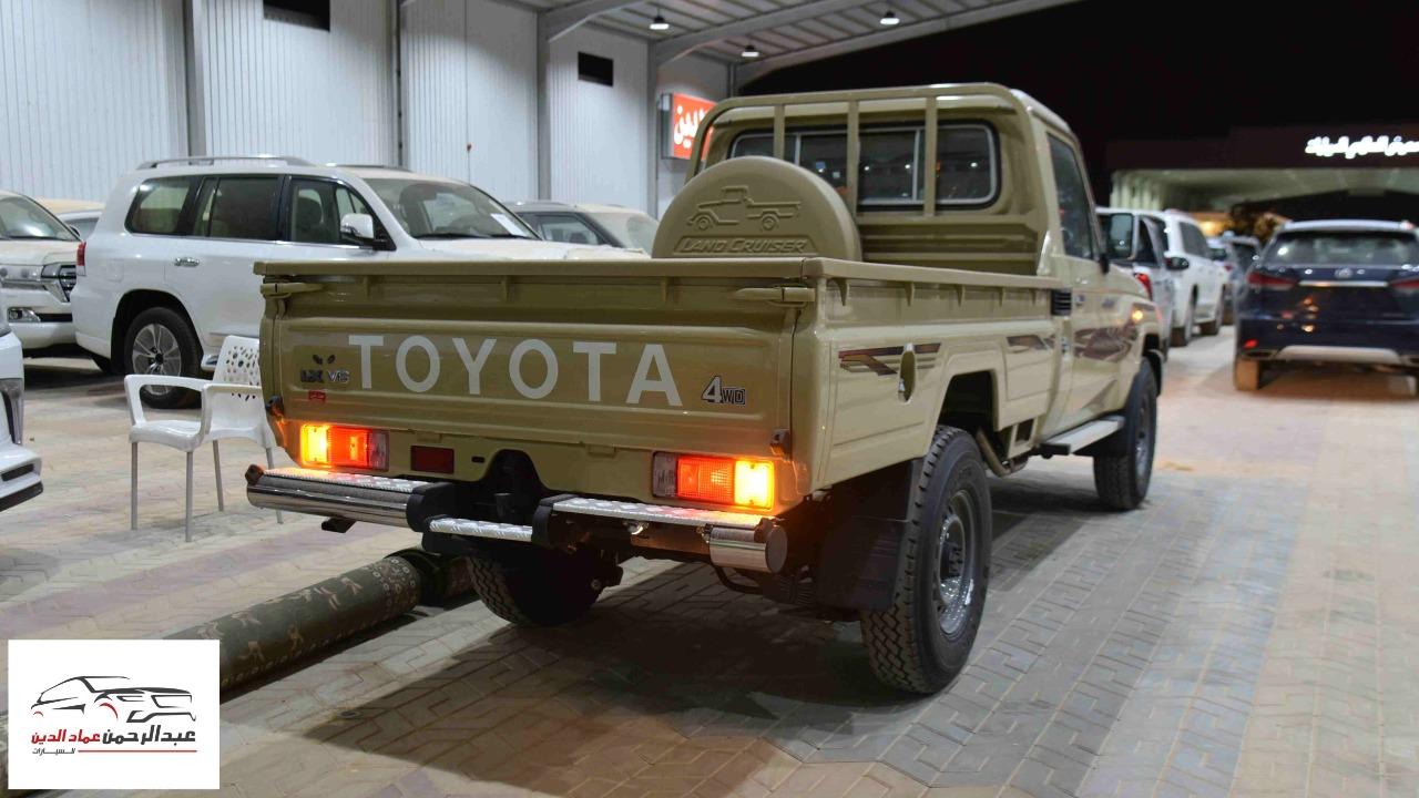 تويوتا شاص 2021  ديلوكس بدون ونش بنزين  سعودي  للبيع في الرياض - السعودية - صورة كبيرة - 3
