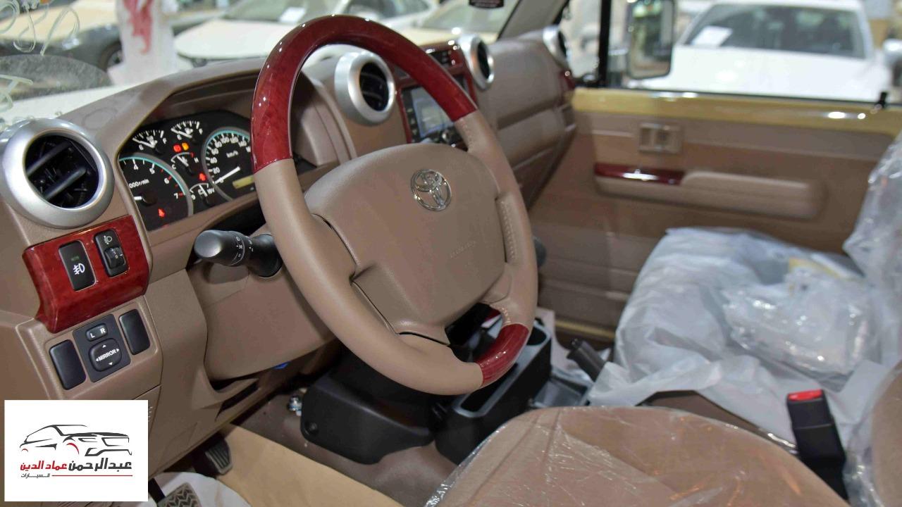 تويوتا شاص 2021  ديلوكس بدون ونش بنزين  سعودي  للبيع في الرياض - السعودية - صورة كبيرة - 4