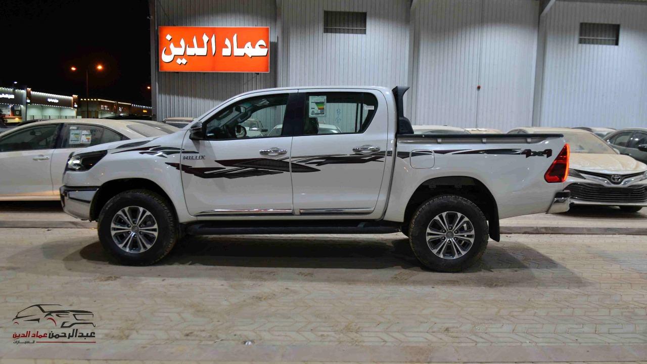 تويوتا هايلكس 2021 غمارتين دبل 2.7 اوتوماتيك بنزين سعودي  للبيع في الرياض - السعودية - صورة كبيرة - 2