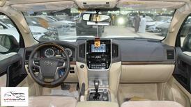 تويوتا لاندكروزر 2021   GXR1  بلس فتحة  6 سلندر بنزين سعودي للبيع في الرياض - السعودية - صورة صغيرة - 6