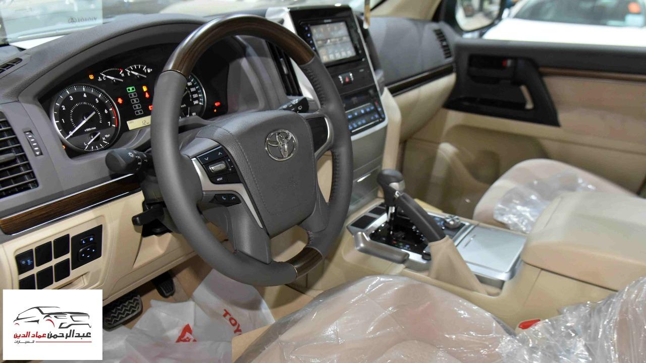 تويوتا لاندكروزر 2021   GXR1  بلس فتحة  6 سلندر بنزين سعودي للبيع في الرياض - السعودية - صورة كبيرة - 8