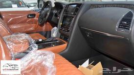 نيسان باترول 2021 بلاتنيوم V8 فل 400 حصان جديد للبيع في الرياض - السعودية - صورة صغيرة - 7