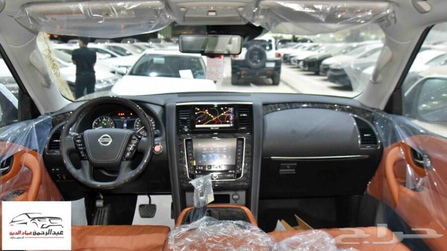 نيسان باترول 2021 بلاتنيوم V8 فل 400 حصان جديد للبيع في الرياض - السعودية - صورة كبيرة - 4