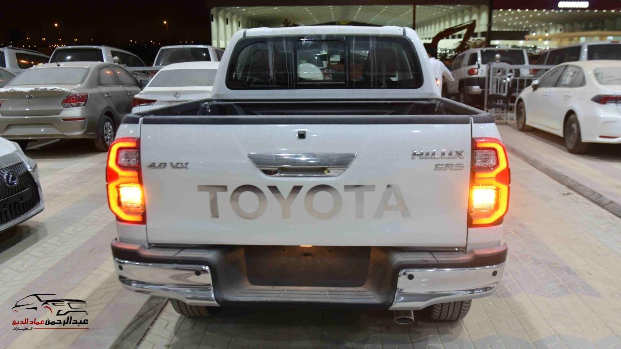 تويوتا هايلكس  2021   6 سلندر  VX اتوماتيك بنزين   خليجي  للبيع في الرياض - السعودية - صورة كبيرة - 5