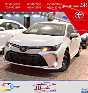 تويوتا كورولا  XLI ستاندر  2021 سعودي جديد (عرض للتقسيط)