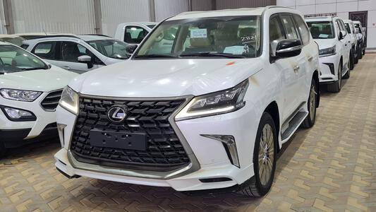 سيارة لكزس LX 570s فل  2021  دبل سعودي جديد للبيع