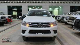 هايلكس DLX دبل 2021 اتوماتيك بنزين خليجي للبيع في الرياض - السعودية - صورة صغيرة - 3
