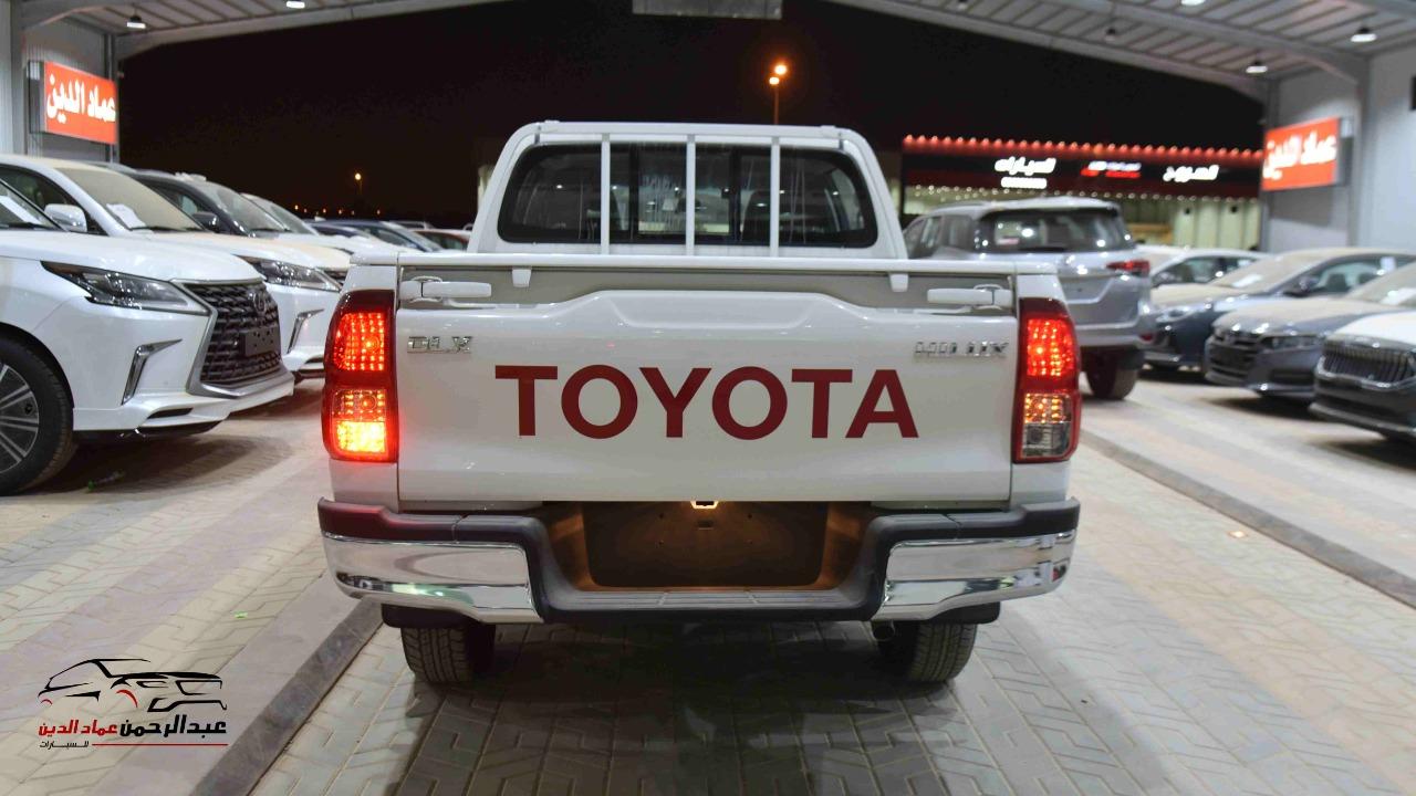 هايلكس DLX دبل 2021 اتوماتيك بنزين خليجي للبيع في الرياض - السعودية - صورة كبيرة - 5