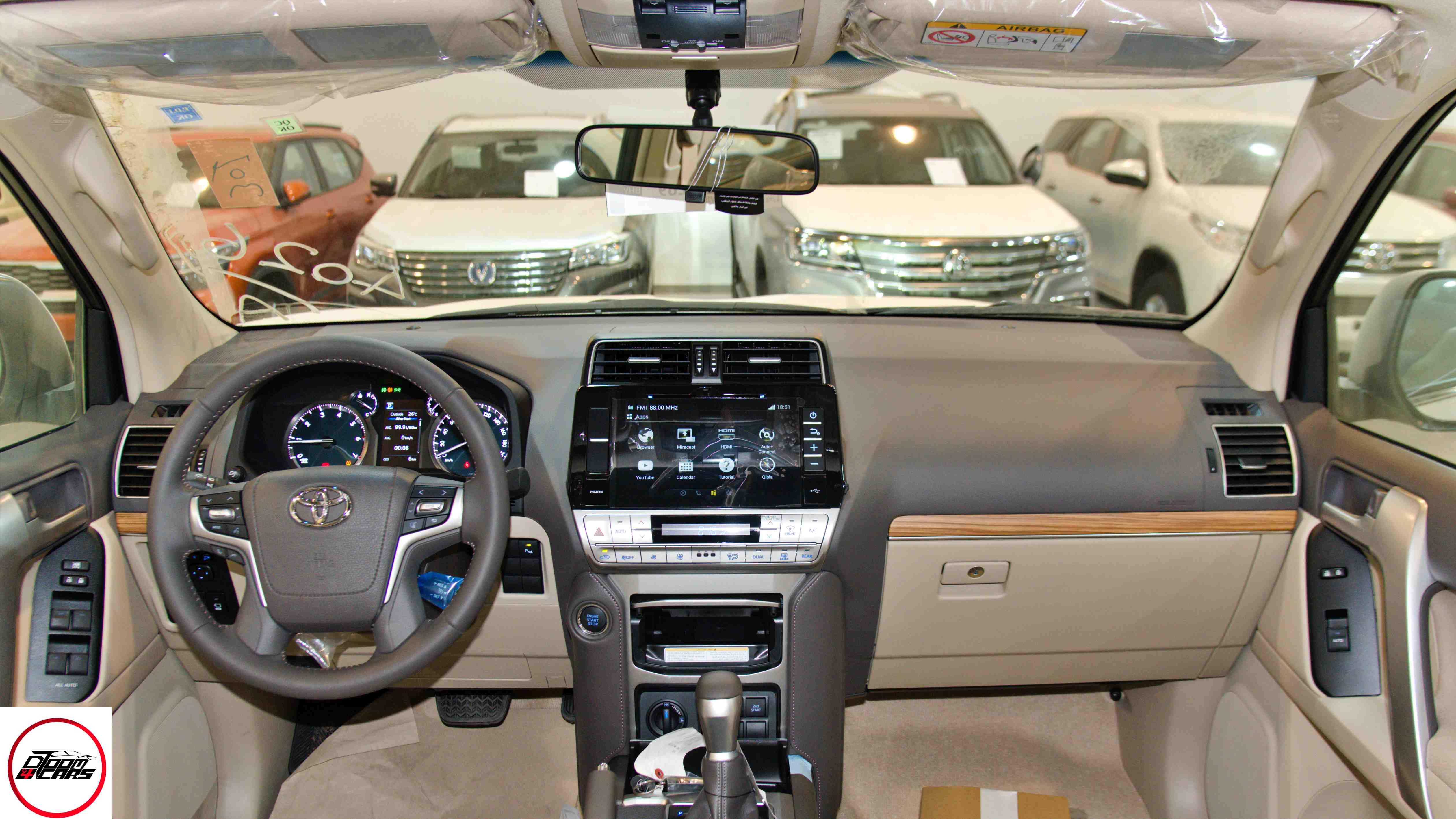 تويوتا برادو2021 VX1 بنزين  سعودي  للبيع في الرياض - السعودية - صورة كبيرة - 5
