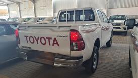 تويوتا هايلكس GL2 ستاندر  2021 دبل غمارتين ديزل خليجي جديد للبيع في الرياض - السعودية - صورة صغيرة - 4