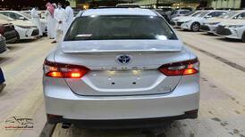 تويوتا كامري 2021   GLE.X  جلد  فتحة  شاشة  ملاحة هايبرد   سعودي  للبيع في الرياض - السعودية - صورة صغيرة - 5