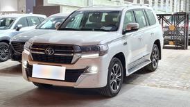 تويوتا لاندكروزر GXR3 قراند تورنج 2021 فل دبل  خليجي جديد للبيع في الرياض - السعودية - صورة صغيرة - 1