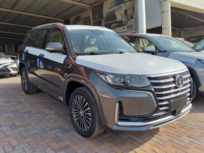 سيارة شانجان CS95 Platinum دبل  2022 نص فل سعودي جديد للبيع