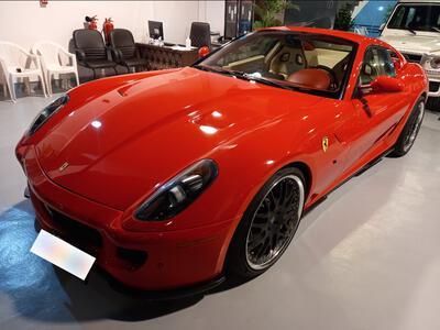 فيراري 599 جي تي بي فيورانون 2008 سعودي V12 فل