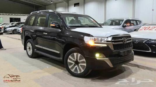 سيارة لاندكروزر 2021 VXR1 سعودي 8 سلند سعودي ر_شامل الضريبه للبيع