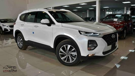 سيارة هيونداي سنتافي    2020   دبل بصمة  خليجي جديد للبيع
