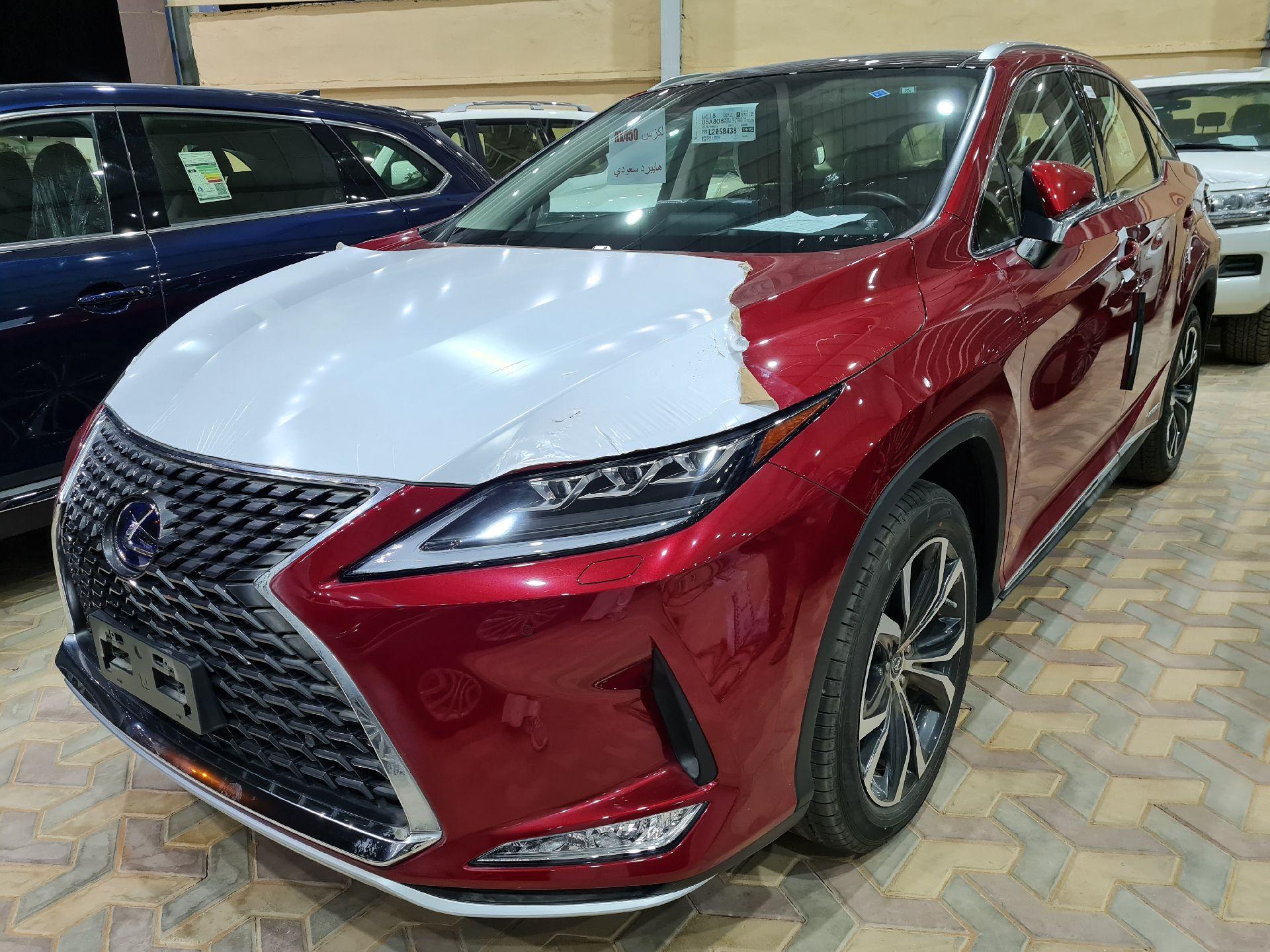لكزس RX 450-BH Hybrid فل  2020 دبل سعودي جديد للبيع في الرياض - السعودية - صورة كبيرة - 1