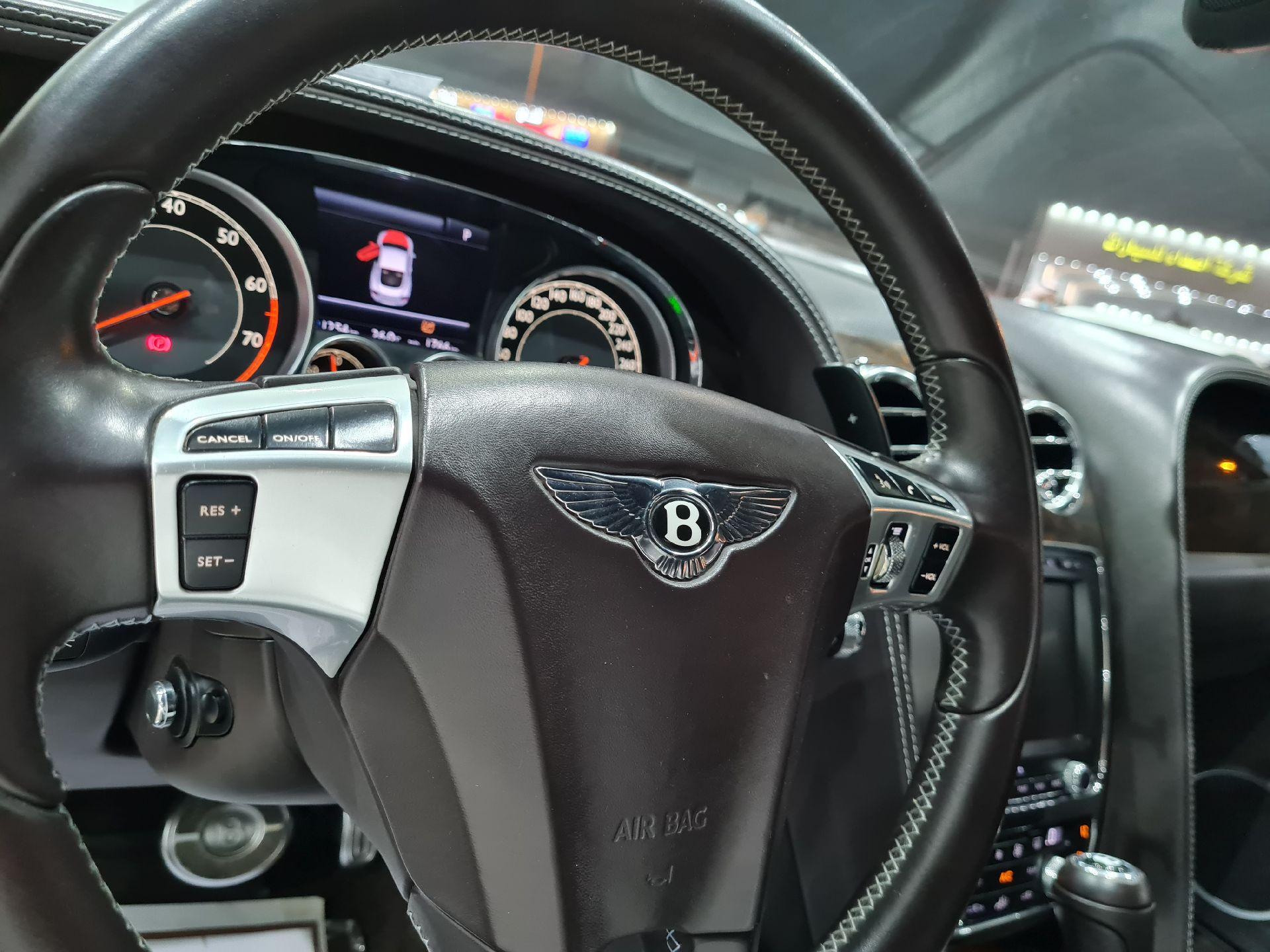 بنتلي كونتيننتال GT جي تي 2013 سعودي للبيع في الرياض - السعودية - صورة كبيرة - 12
