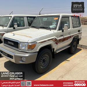تويوتا ربع DLX 3DR ستاندر 2021 دبل سعودي جديد