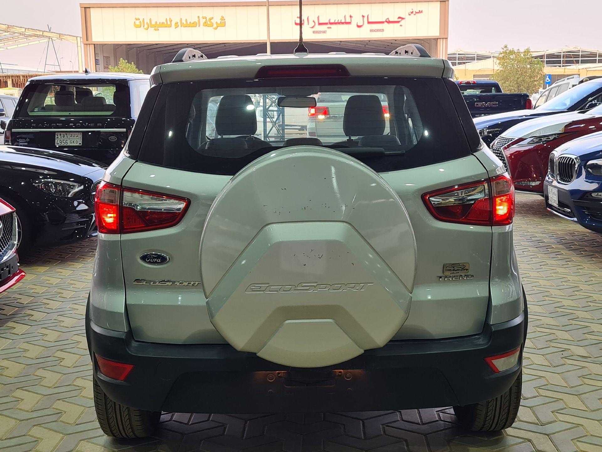 فورد ايكو سبورت  2020 خليجي نص فل للبيع في الرياض - السعودية - صورة كبيرة - 3