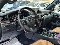 لكزس LX 570 Black Ed. 2021 فل سعودي للبيع في الرياض - السعودية - صورة صغيرة - 12